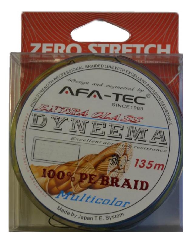 Шнур плетёный AFA-TEC Dyneema PEM28135 135m Multicolor<br>