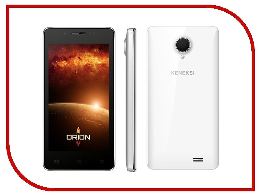 Zakazat.ru: Сотовый телефон KENEKSI Orion White