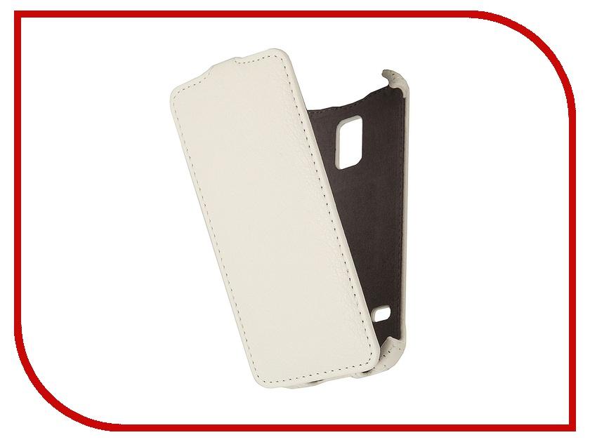 Аксессуар Чехол Samsung SM-G800 Galaxy S5 mini Gecko White<br>