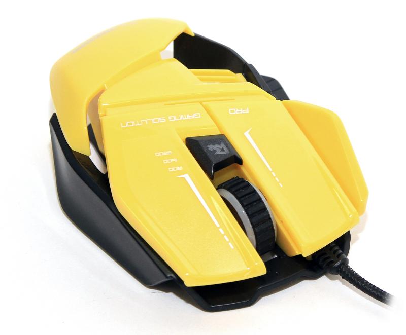 Мышь проводная 5bites CAMPER GM20YE Yellow USB