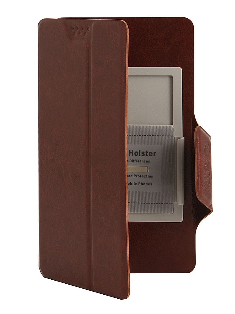 Чехол Media Gadget Clever SlideUP S 3.5-4.3-inch иск. кожа Brown CSU005