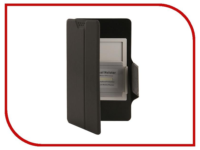 Аксессуар Чехол Media Gadget Clever SlideUP S 3.5-4.3-inch иск. кожа Black CSU001<br>