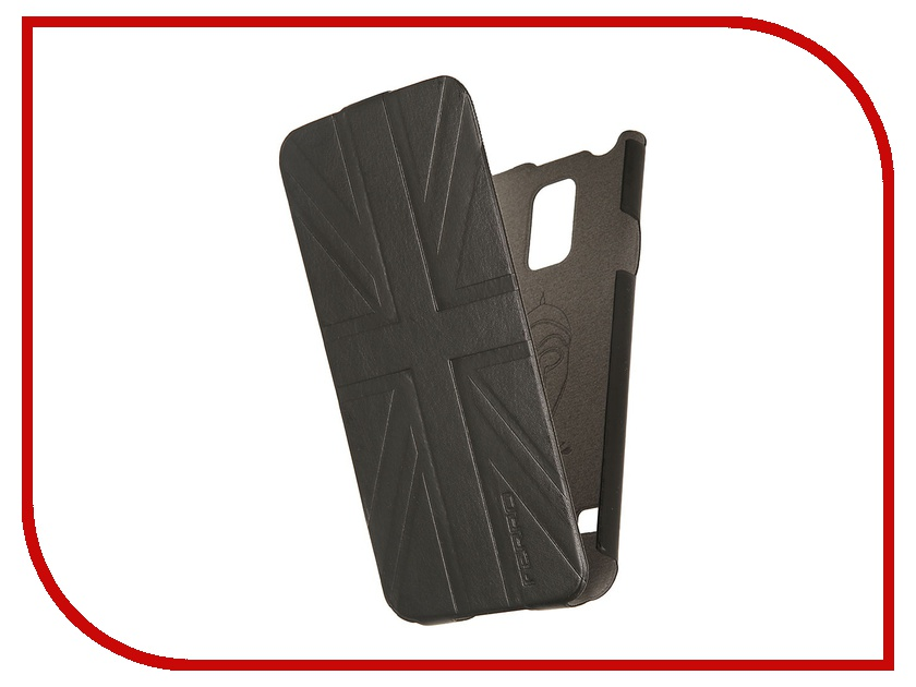Аксессуар Чехол Samsung Galaxy S5 Ferro Black-Grey FE-F-SGS5-BL<br>