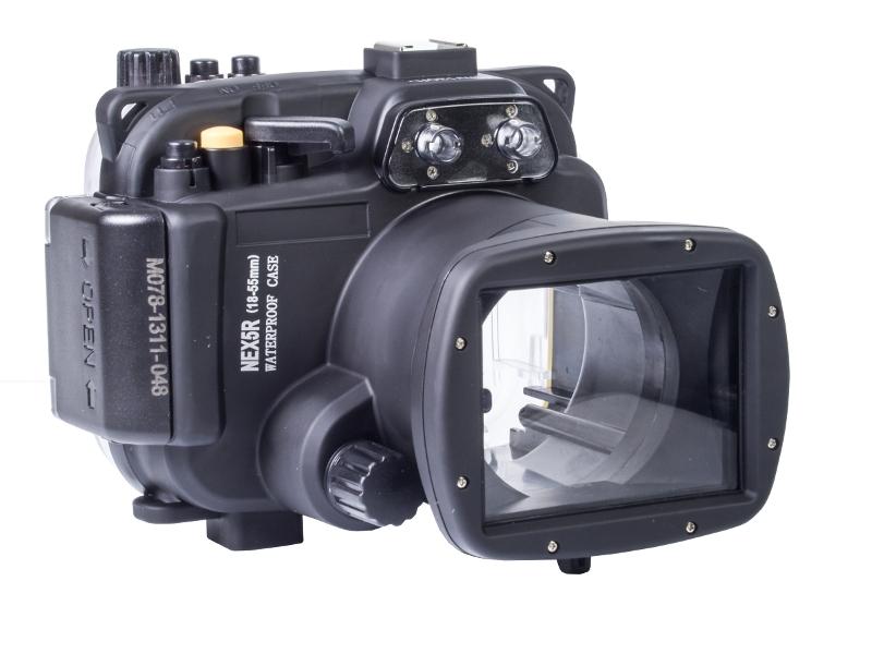 Аквабокс Meikon NEX-5R for Sony NEX-5R Kit 18-55 mm