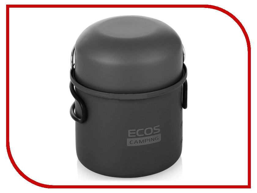 Посуда Ecos P02202-11 - котелок походный с крышкой-ковшом