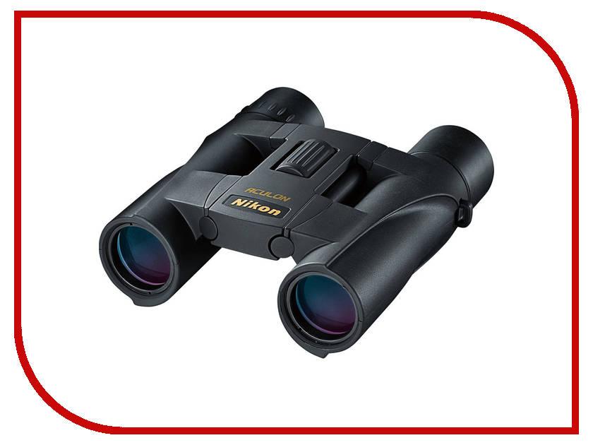 Бинокль Nikon 10x25 Aculon A30 Black