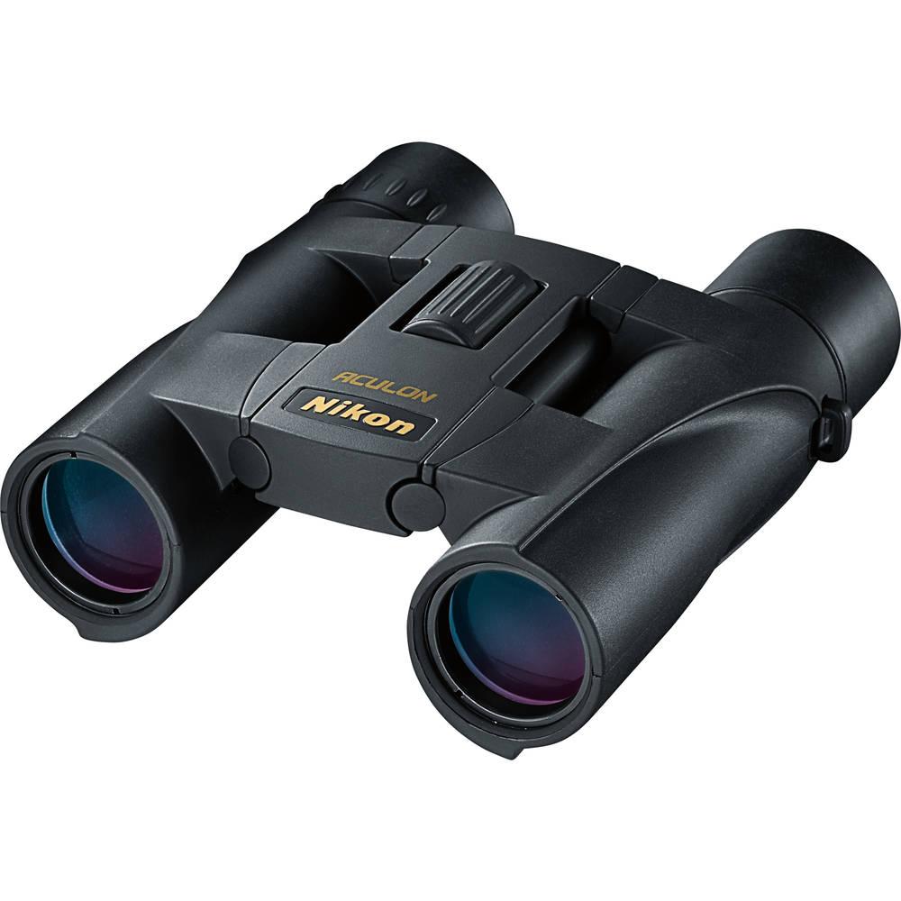 Фото - Бинокль Nikon 10x25 Aculon A30 Black бинокль konus basic 10x25 черный серый