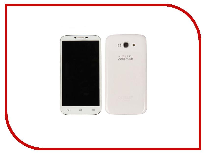 Сотовый телефон Alcatel OneTouch 7047D Pop C9 White<br>