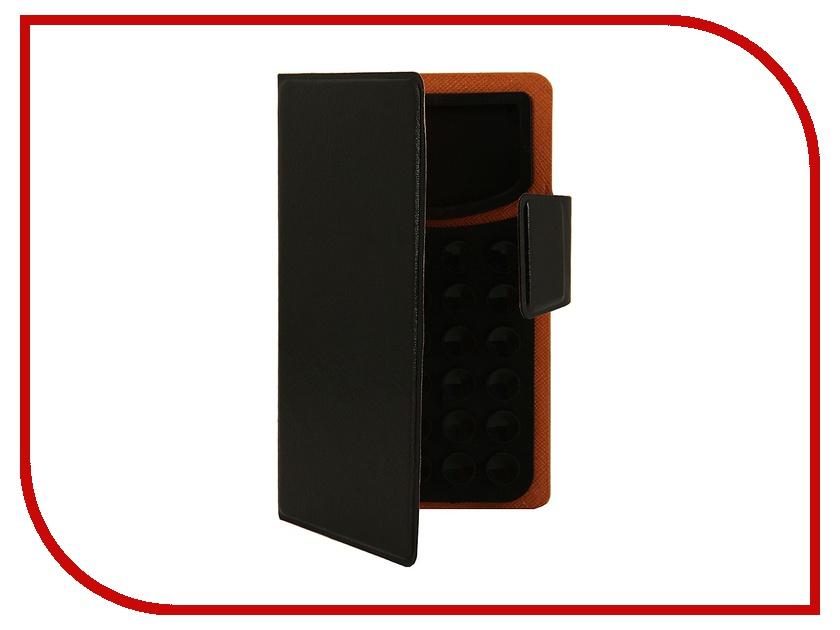 Аксессуар Чехол Prolife Platinum 3.5-inch на присосках эко кожа Black 4087527 prolife prolife platinum для iphone