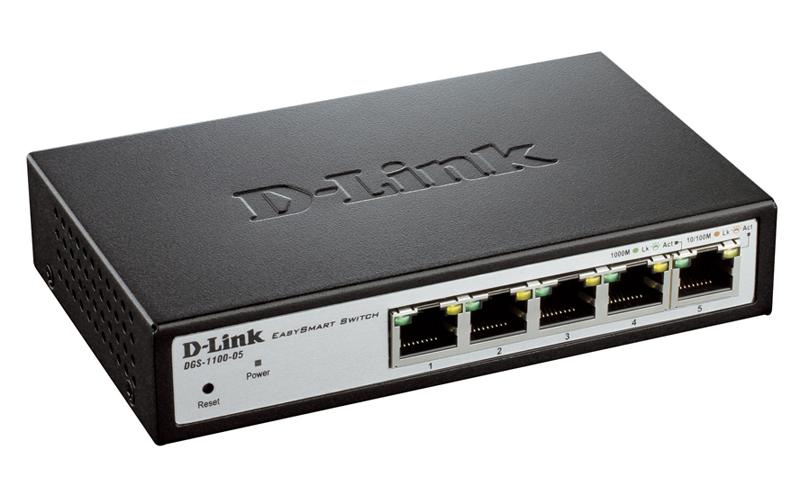 Коммутатор D-Link DGS-1100-05/A1A/B1A
