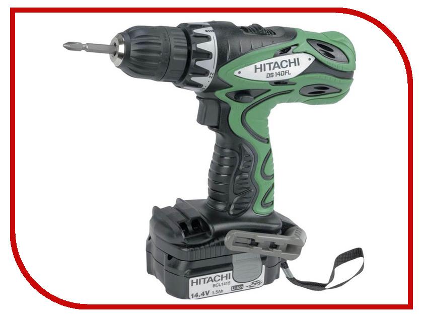 Электроинструмент Hitachi DS14DFL