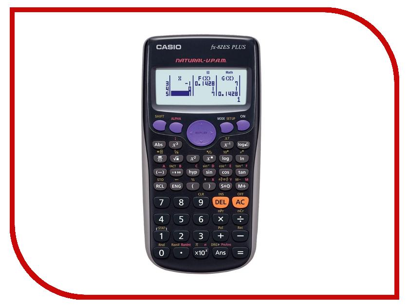 Калькулятор Casio FX-82ESPLUS калькулятор casio fx 82sxplus питание от батареи 12 разряда научный 177 функций синий