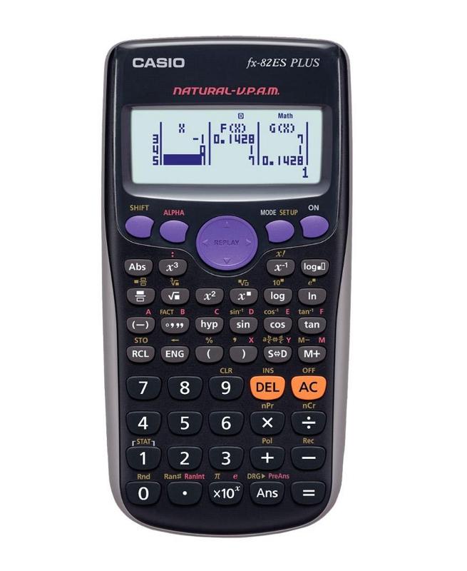 Калькулятор Casio FX-82ESPLUS
