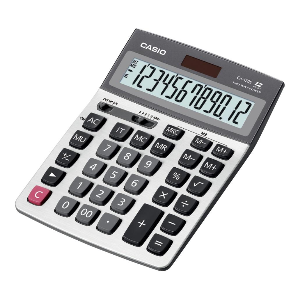 Калькулятор Casio GX-120S - двойное питание