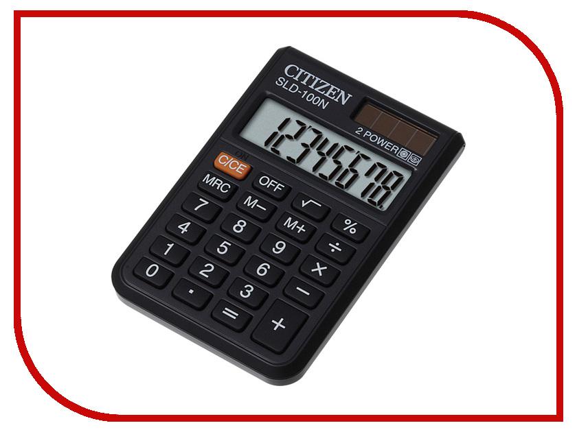 Калькулятор Citizen SLD-100N - двойное питание radiotehnika giant fs 100n black