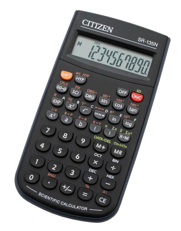 цена на Калькулятор Citizen SR-135N