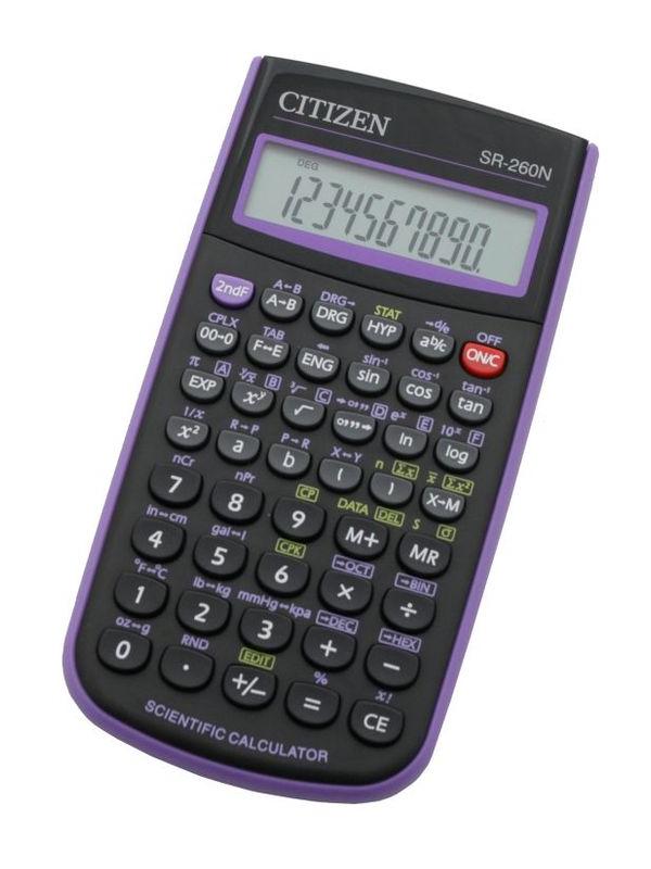 купить Калькулятор Citizen SR-260NPU по цене 637 рублей