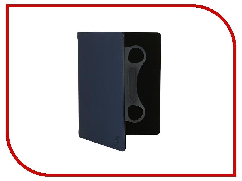 Аксессуар Vivacase Basic 8.0 кожаный, универсальный Blue VUC-CM008-blue