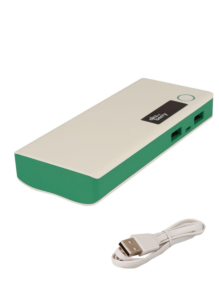 Аккумулятор Aksberry M5 13000 mAh Green