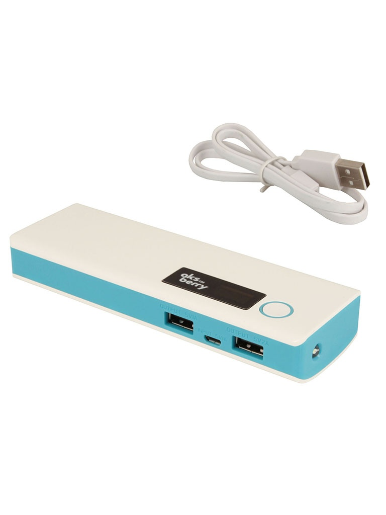 Аккумулятор Aksberry M9 7800 mAh Blue