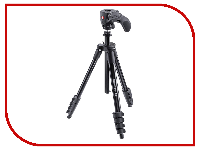 все цены на Штатив Manfrotto Compact Action Black MKCOMPACTACN-BK онлайн