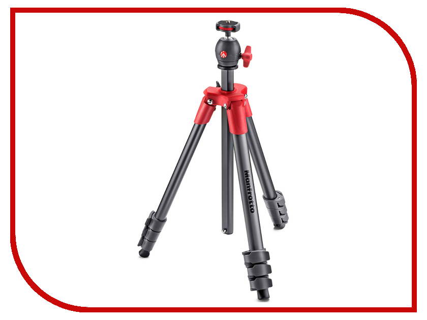 Штатив Manfrotto Compact Light Red MKCOMPACTLT-RD штатив slik compact 8