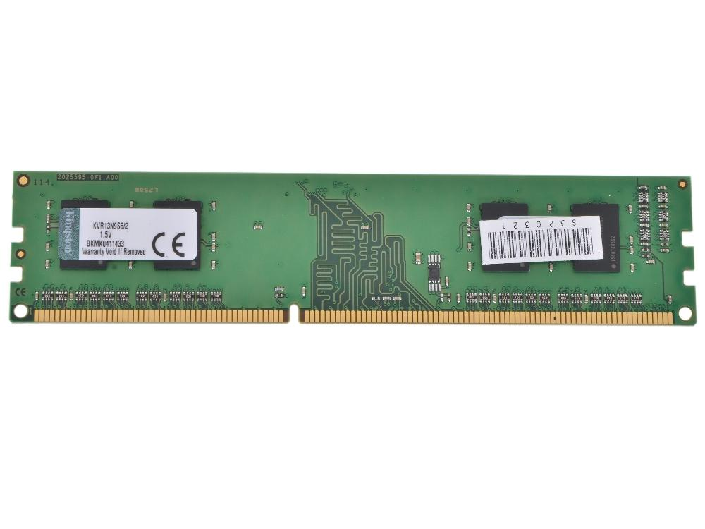 Модуль памяти Kingston DDR3 DIMM 1333MHz PC3-10600 - 2Gb KVR13N9S6/2 PC3-10600 DIMM DDR3 1333MHz 2Gb фото