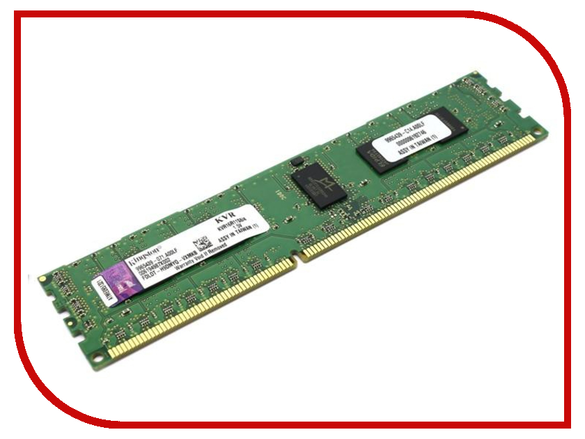 Модуль памяти Kingston PC3-12800 DIMM DDR3 1600MHz ECC Reg CL11 SR x8 - 4Gb KVR16R11S8/4 скатерти и салфетки santalino скатерть justina 140х180 см