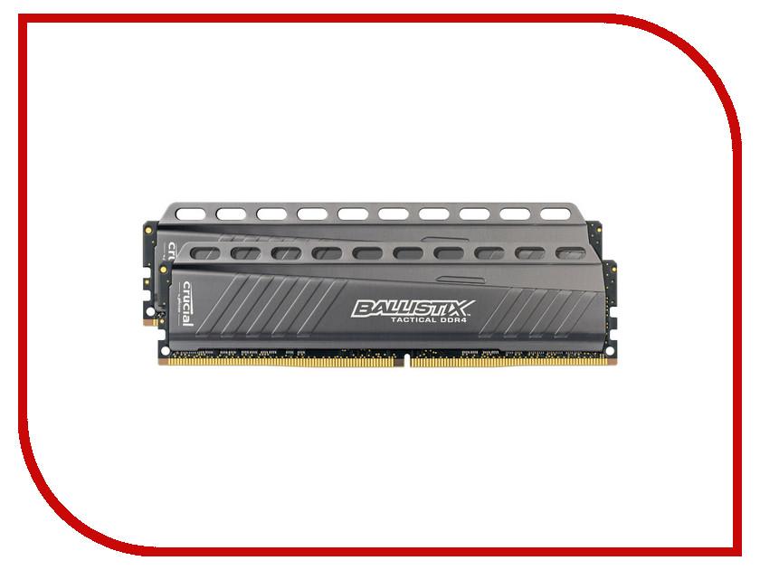 Модуль памяти Crucial Ballistix Tactical DDR4 UDIMM 2666MHz PC4-21300 - 8Gb KIT (2x4Gb) BLT2C4G4D26AFTA