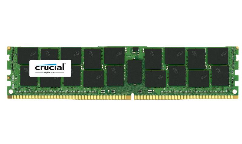 Модуль памяти Crucial PC4-17000 DIMM DDR4 2133MHz ECC Reg 1.2V CL15 - 8Gb CT8G4RFS4213 Retail<br>