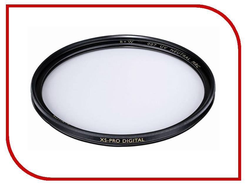 Светофильтр B+W 007M XS-Pro Clear MRC Nano 77mm (1066111) 77mm filter adapter ring mount w square shape filter bracket for dslr black