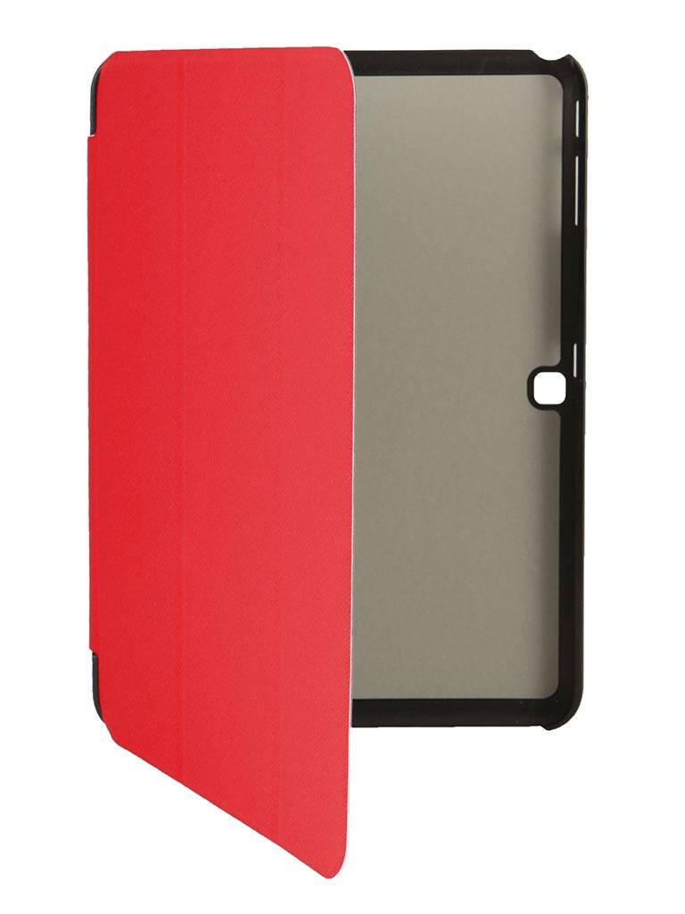 Аксессуар Чехол for Samsung Galaxy Tab 4 10.1 T531 Palmexx Smartbook Red PX/SMB SAM Tab4 T531 RED<br>