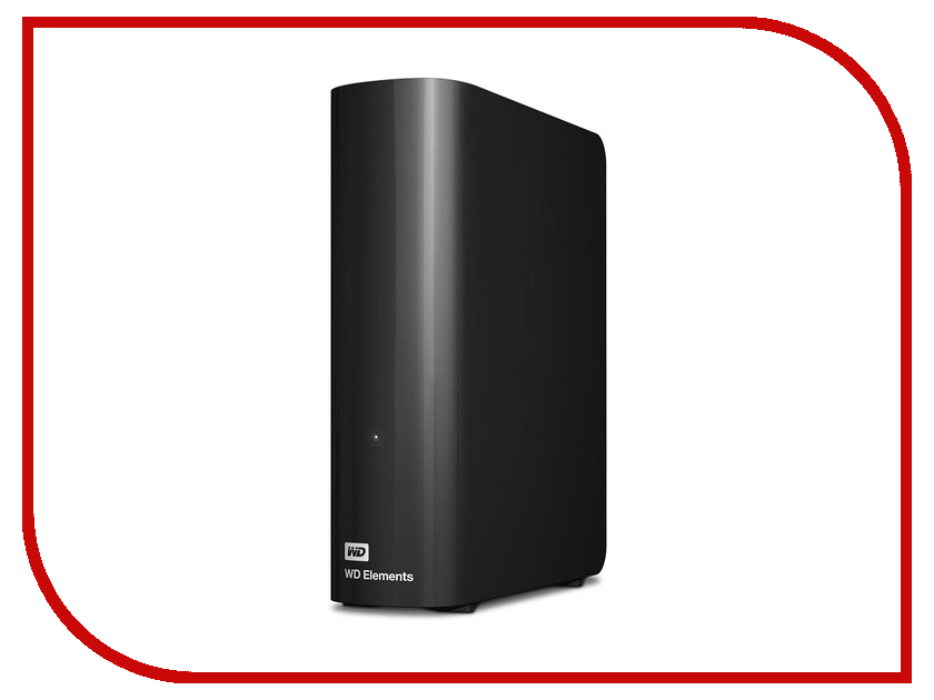 внешние HDD/SSD WDBWLG0040HBK-EESN  Жесткий диск Western Digital Elements USB 3.0 4Tb WDBWLG0040HBK-EESN
