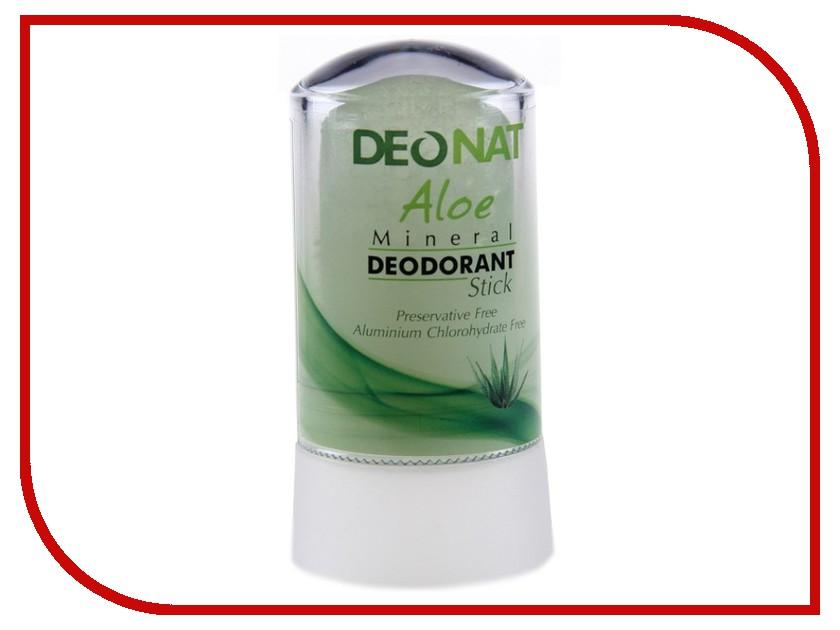Дезодорант DeoNat кристалл 40г с соком Алоэ дезодорант кристалл isme дезодорант кристалл