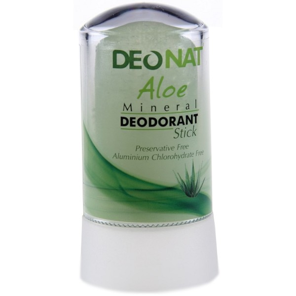 Дезодорант DeoNat кристалл 40г с соком Алоэ