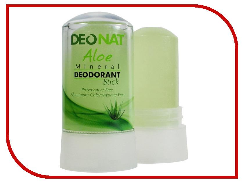 Дезодорант DeoNat кристалл 60г с соком Алоэ<br>