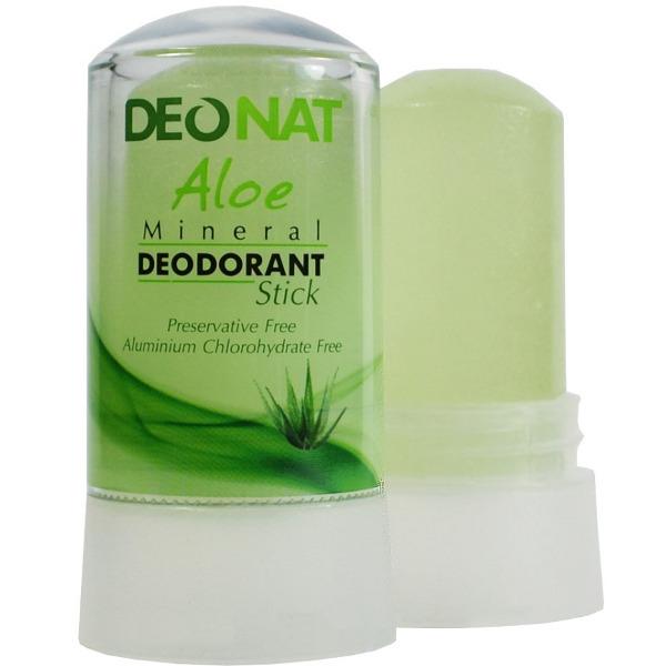 Дезодорант DeoNat кристалл 60г с соком Алоэ