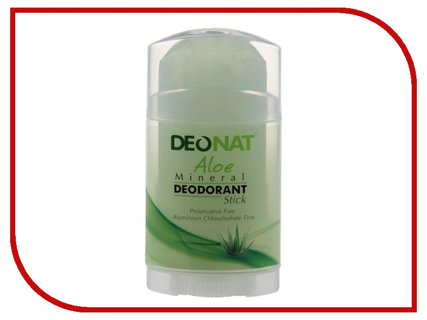 Дезодорант DeoNat кристалл 80г с экстрактом Алоэ