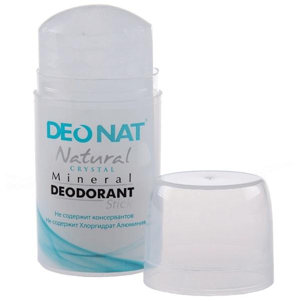 Дезодорант DeoNat кристалл 100г овальный