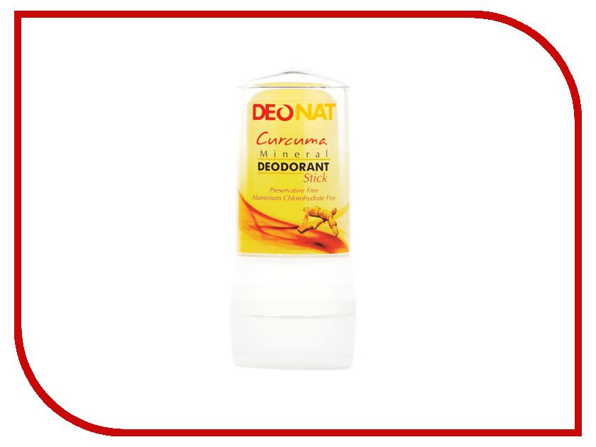 Дезодорант DeoNat кристалл 60г с Куркумой