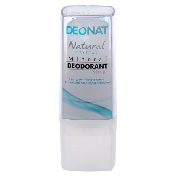 Дезодорант DeoNat кристалл 40г Travel Stick дезодорант кристалл плоский 100 г deonat дезодоранты deonat