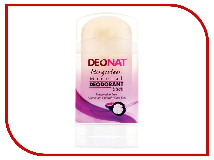 Дезодорант DeoNat кристалл 100г с соком Мангостина йогурт campina нежный с соком вишни 1 2%
