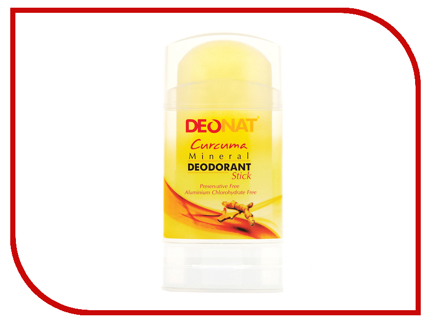 Здесь можно купить с Куркумой  Дезодорант DeoNat кристалл 100г с Куркумой