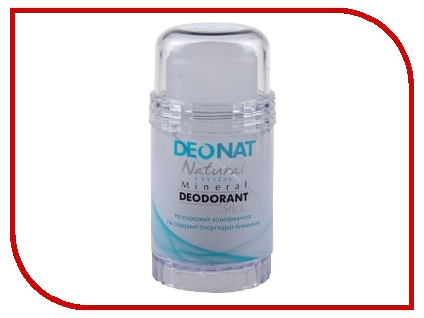 Дезодорант DeoNat кристалл 80г цельный дезодорант deonat кристалл 100г с соком мангостина