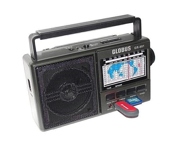Радиоприемник Globus GR-991<br>