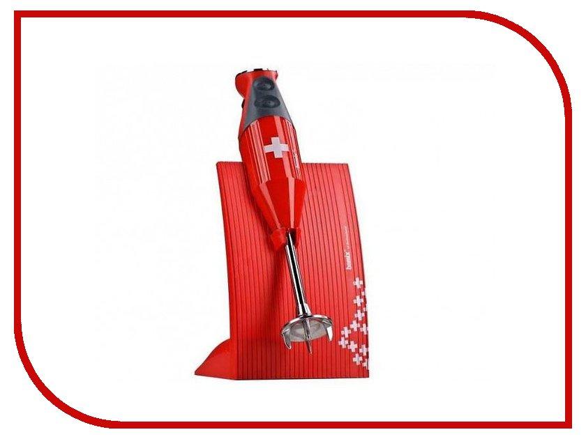 Блендер Bamix M200 SwissLine Red погружной блендер bamix m 200 swissline red красный