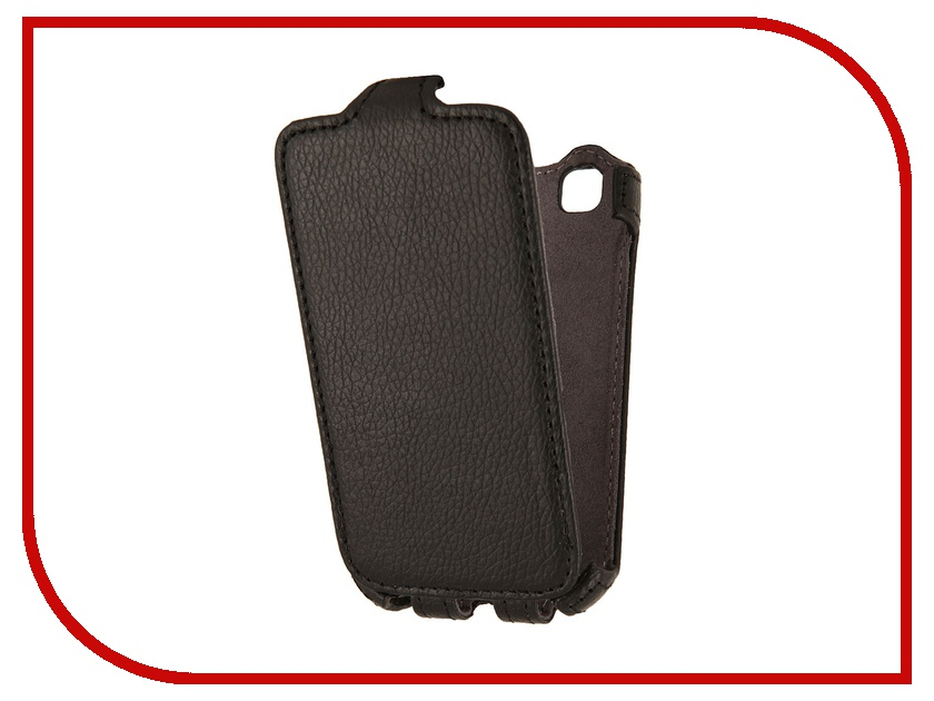 Аксессуар Чехол LG L40 D170 Partner Flip-case Black<br>