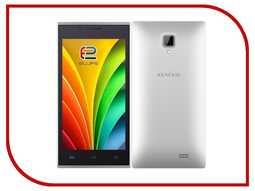 Сотовый телефон KENEKSI Ellips White ascalini ascalini as006awhkx77