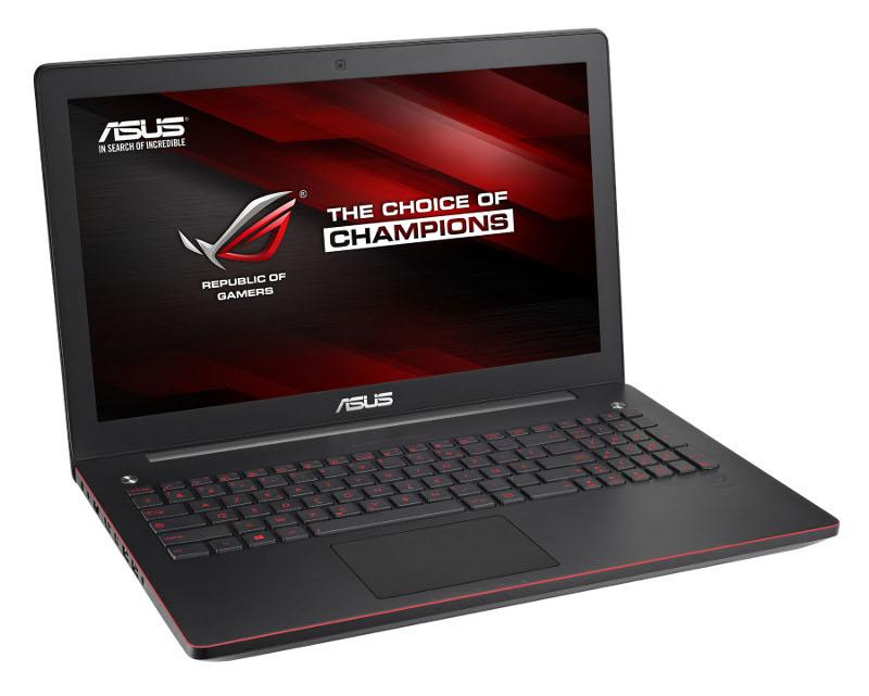 Ноутбук ASUS G550JK 90NB04L3-M03390 Intel Core i5-4200H 2.8 GHz/6144Mb/750Gb/DVD-ROM/nVidia GeForce GTX 850M 2048Mb/Wi-Fi/Bluetooth/Cam/15.6/1920x1080/Windows 8 64-bit<br>
