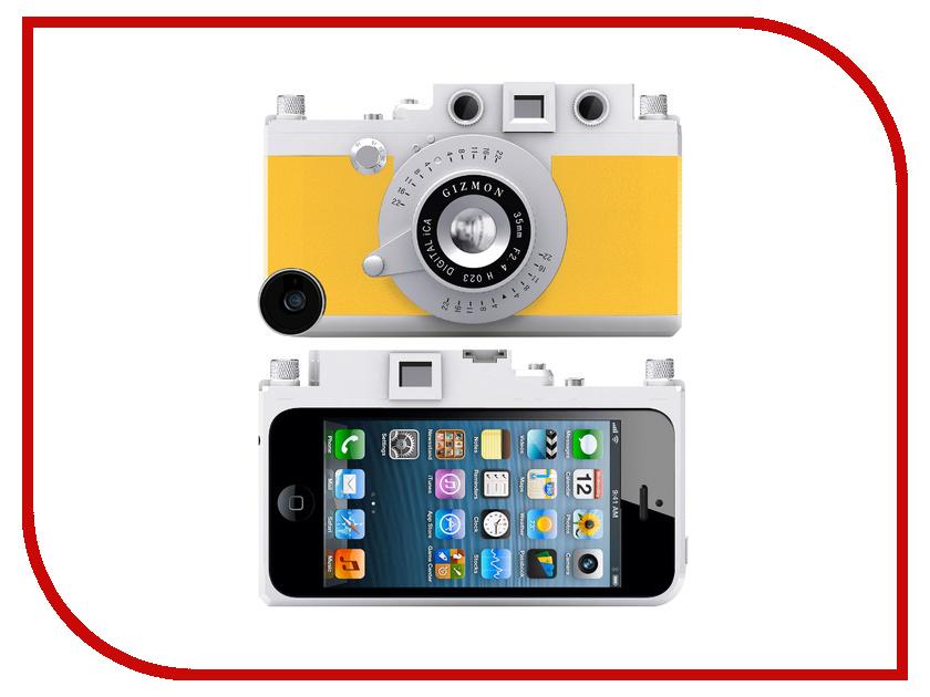 Аксессуар Кейс GIZMON iCA5 для iPhone 5 / 5S Yellow 82365<br>